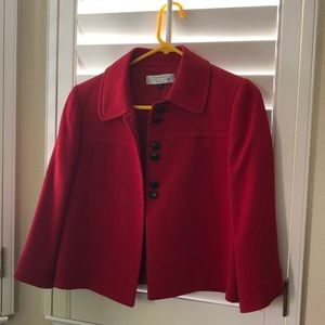 NWOT Tahari Petite Red Jacket